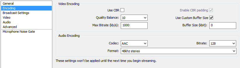 OBS Best Encoding Settings